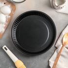 Форма для выпечки Доляна «Ренард. Рифлёный круг», 25×4 см, антипригарное покрытие - Фото 2