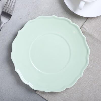 Тарелка «Зелёная», Ø 20 см - Фото 1