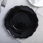 Тарелка «Чёрная», Ø 20 см - Фото 1