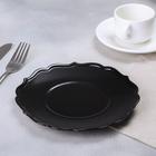 Тарелка «Чёрная», Ø 20 см - Фото 2
