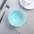 Миска «Голубая», Ø 12 см - Фото 2