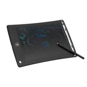 Планшет для рисования и заметок LuazON TAB-1 8.5', цветная линия, функция блокировки, черный Ош