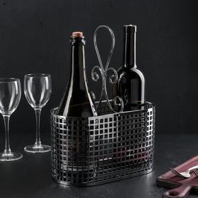 Подставка для бутылок 31,5×24×13 см Ош
