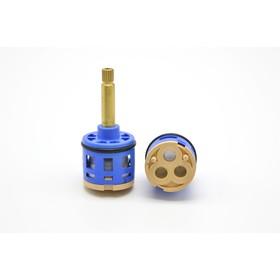 Картридж дивертора 'Душ Сити' K3, для душевых кабин, d=33 мм, шток 40 мм, 2-3 режима, шлицы   477685 Ош