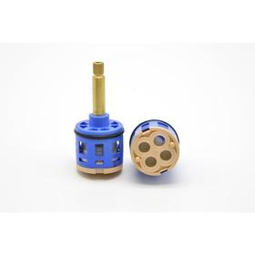 Картридж дивертора 'Душ Сити' K4, для душевых кабин, d=35 мм, шток 40 мм, 4 режима, шлицы Ош