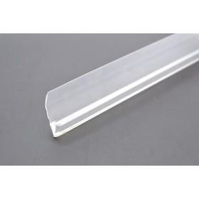 Уплотнитель под стекло 'Душ Сити', для душевых кабин, F-образный, 4 мм, 1.8 м Ош