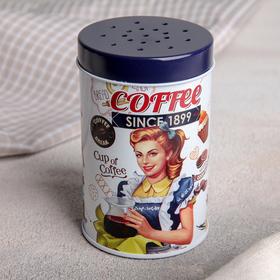 Ёмкость для сыпучих продуктов Coffee, 100 мл, с ручкой