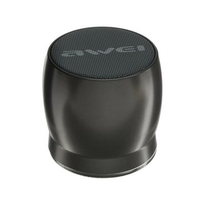 Портативная колонка Awei Y500, Bluetooth 3.0, 5 Вт, 600 мАч, серая
