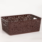 Корзина для хранения «Сказка», цвет коричневый