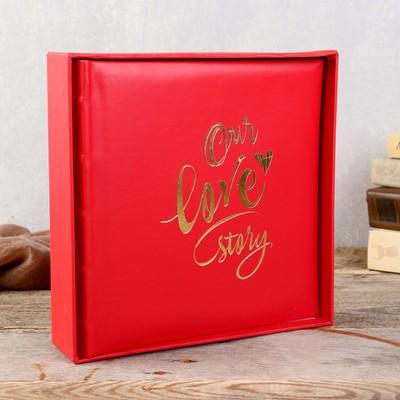 Фотоальбом our story модельный бизнес дубовка