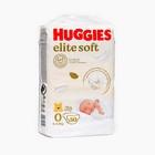 """Подгузники """"Huggies"""" Elite Soft 0+ до 3.5 кг, 50 шт"""