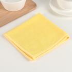 """Салфетки из микрофибры для уборки ванной комнаты """"Солнечный топаз"""", 30х32см"""