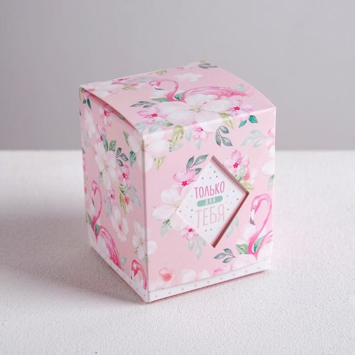 Бонбоньерка «Фламинго», 6 × 7 × 6 см