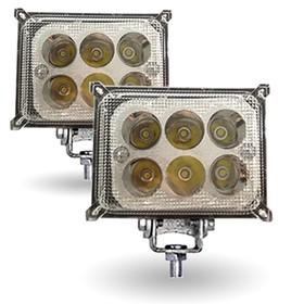Фара светодиодная 'OFF-Road' AVS Light FL-1174, 110х36х62мм, 18 Вт,  'Basic', набор 2 шт Ош