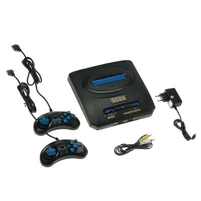 Игровая приставка Magistr Drive 2, 252 игры, 2 геймпада, AV-кабель