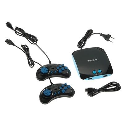 Игровая приставка Titan, 555 игр, 2 геймпада, HDMI-кабель