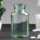 "Бутылка для аромамасел/декора стекло ""Цитрус"" зелёная 125 мл 10х5,5х5,5 см"