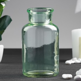 Бутылка для аромамасел/декора стекло 'Цитрус' зелёная 125 мл 10х5,5х5,5 см Ош