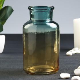 Бутылка для аромамасел/декора стекло 'Заря' градиент 125 мл 10,4х5,5х5,5 см Ош
