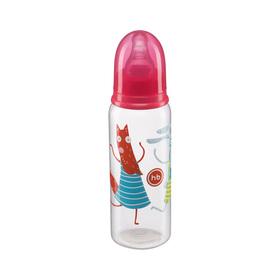Бутылочка для кормления Happy Baby, с 2 силиконовыми сосками, от 3 месяцев, 250 мл