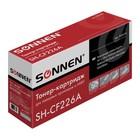 Картридж SONNEN CF226A для HP LaserJet Pro M402/M426 (3100k), черный