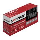 Картридж SONNEN MLT-D111S для Samsung Xpress M2020/W/M2070/W/FW (1000k), черный
