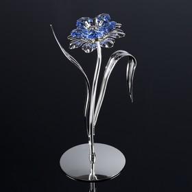 Сувенир 'Цветок' 18х6х15 см, с кристаллами Сваровски Ош