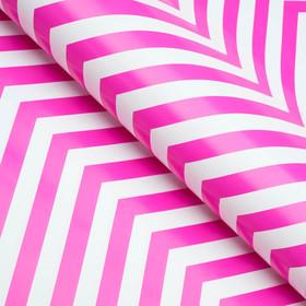 Бумага глянцевая, зигзаг, пурпурная, 50 х 70 см Ош