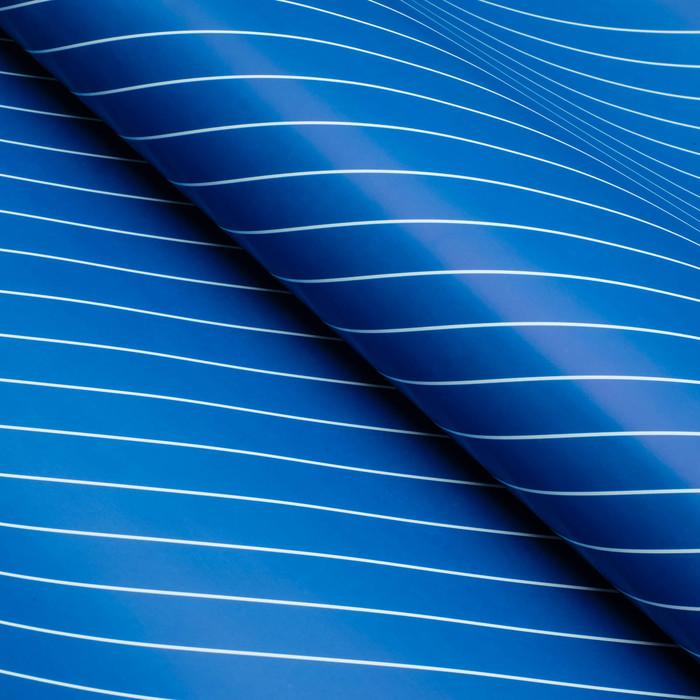 Бумага глянцевая, люрекс, 49 х 70 см. Голубая