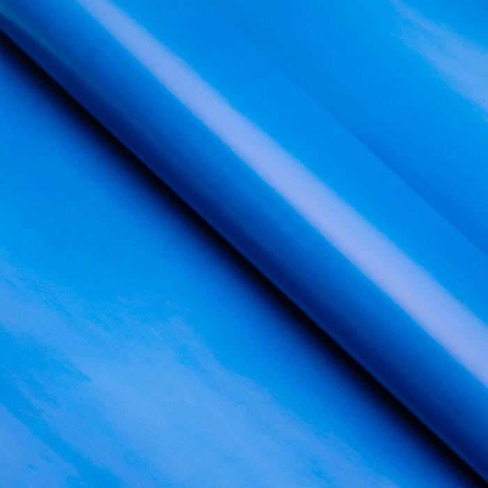 Бумага матовая, однотонная, 49 х 70 см. Голубая