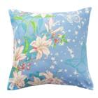 Наволочка Экономь и Я «Цветочный рай», размер 70х70 см, цвет голубой, бязь