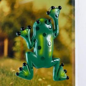 Пластиковый термометр оконный 'Лягушка' в пакете Ош