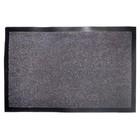 Грязезащитное покрытие КИТО, 60x40 см, цвет серо-чёрный