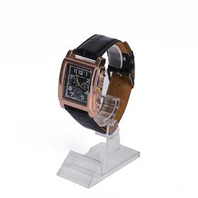 Подставка под часы, с выдвижным элементом, цвет прозрачный 4,5*7*9 Ош