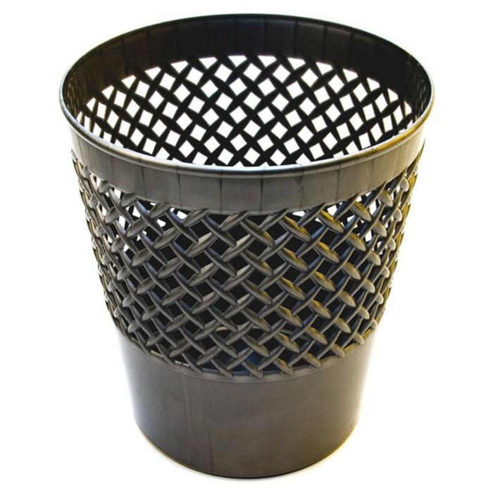 Корзина для бумаг пластик сетчатая 12л Uni