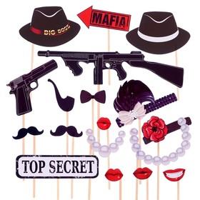 Набор для фотосессии 'Mafia Party' Ош