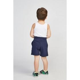 Майка для мальчика, цвет белый, рост 86 см (52)