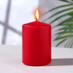 Свеча - цилиндр ароматическая 'Цветущий сад' 4х6 см Ош
