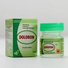 Аюрведический расслабляющий бальзам Долорон, от простуды и для суставов 10гр