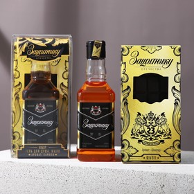 """Набор """"Защитнику"""" гель для душа 250 мл аромат мужского парфюма, мыло-шоколад"""