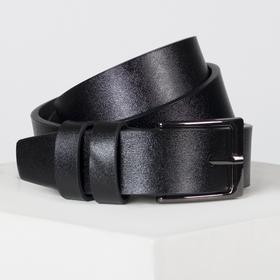 Ремень, ширина - 3 см, цвет чёрный