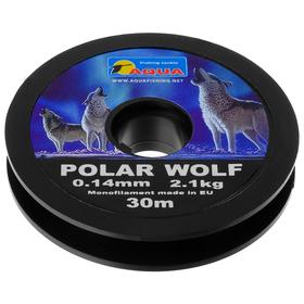 Леска AQUA Polar Wolf, 0,14 мм, 30 м