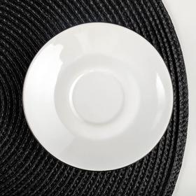 Блюдце кофейное «Палитра», d=11,5 см, ф. «Мокко»