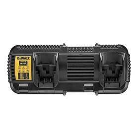 Зарядное устройство DeWalt DCB132-QW, 10.8/14.4/18/54 В, Li-Ion, слайдер, для 2 АКБ
