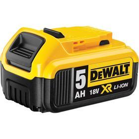 Аккумулятор DeWalt DCB184-XJ, 18 В, 5 Ah, Li-ion, слайдер