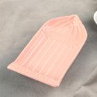 """Блюдо """"Арка"""" 22х12,5х3,5 см, цвет розово-оранжевый - Фото 2"""