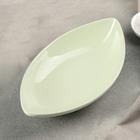 """Салатник """"Лада"""" 24,5х13,5х5 см, цвет зеленый"""