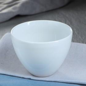 """Салатник """"Япония"""", цвет белый, фарфор, 0.35 л"""