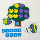 Развивающая игра «Дерево с птичками»