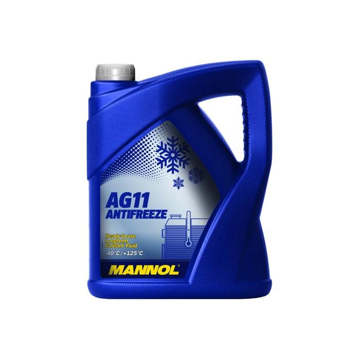 Антифриз Antifreeze AG11 Longterm -40С, синий, 5 л